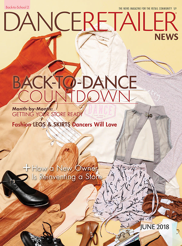 DANCE RETAILER NEWS JUNE 2018