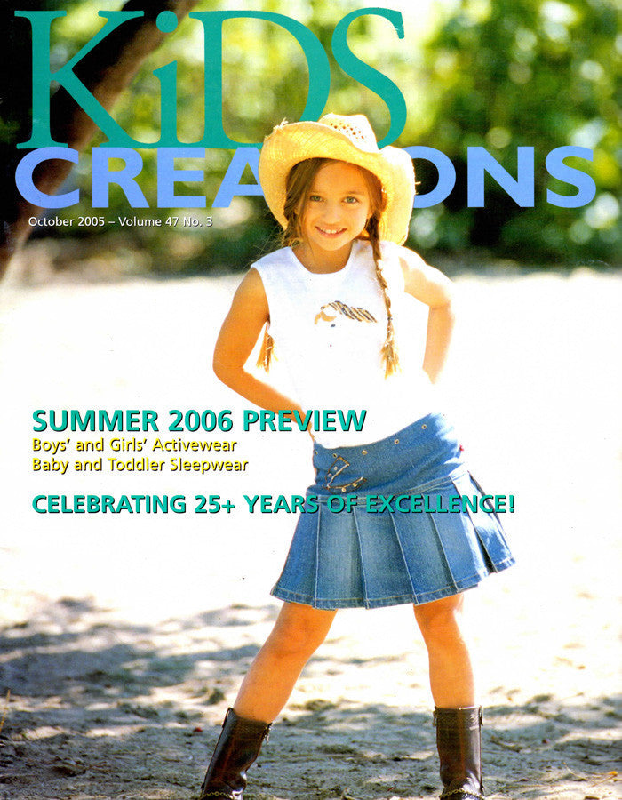 KIDS CREATIONS OCTOBER 2005