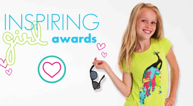 VOTE FOR AN INSPIRING GIRL TO WIN $1000!