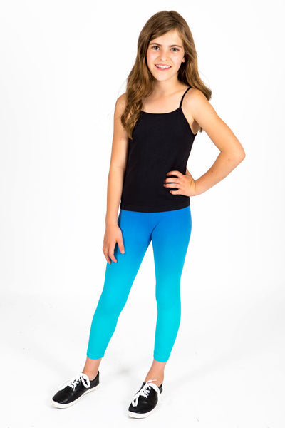 Active Capri Legging 2 Pack - Navy Turquoise and Blue