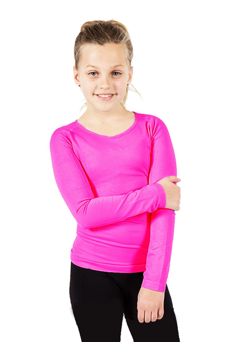 Activewear Basic Tops 2 Pack - Turquoise Navy and Fuchsia