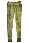 Knit Leggings - Yellow Tie Dye