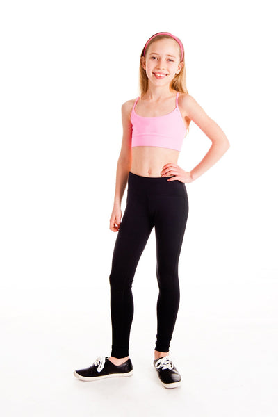 Seamless Activewear 2 Pack - Light Pink and Fuchsia Half Top