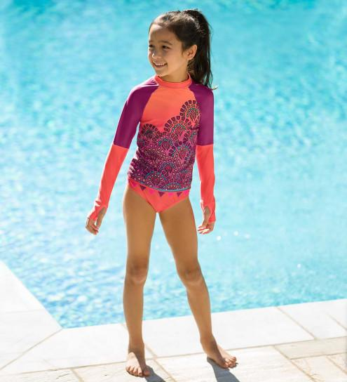 Rosella Rash Guard Set