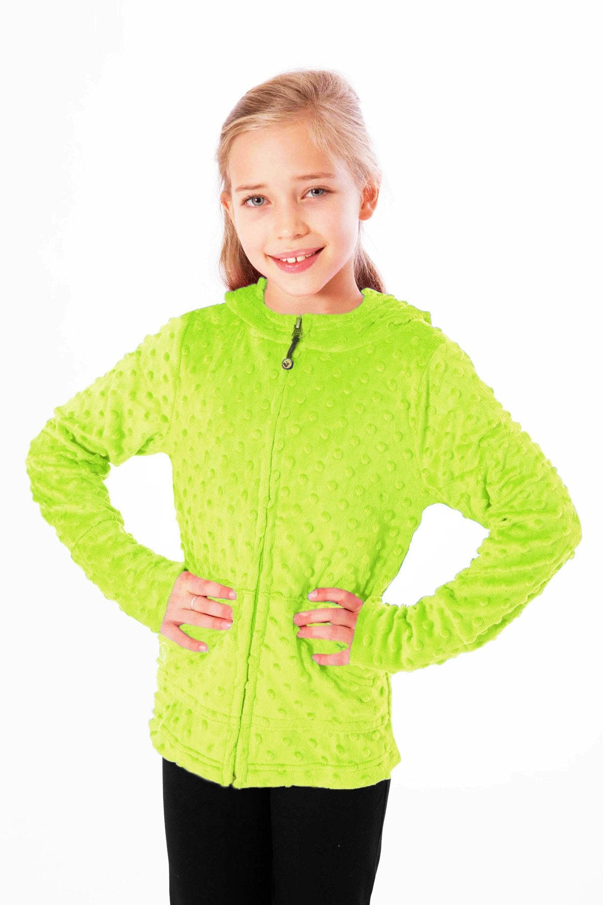 Bubble Hoodie - Lime