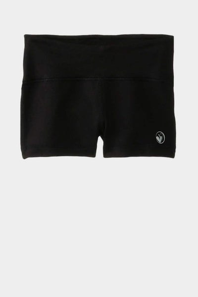 Activewear Sporty Shorts - Black