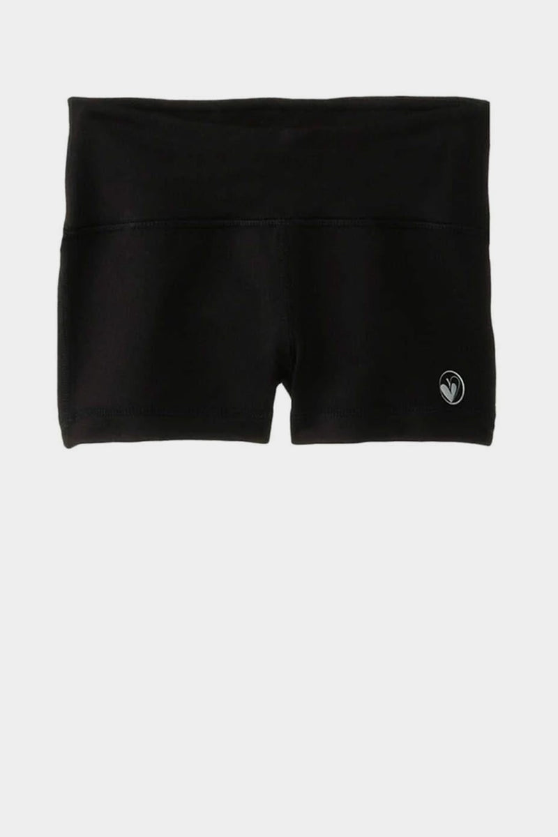 Activewear Sporty Shorts - Black.
