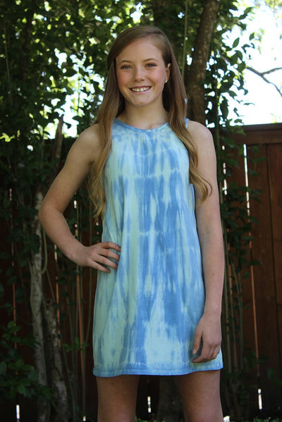 Ailani - TIE DYE TANK DRESS
