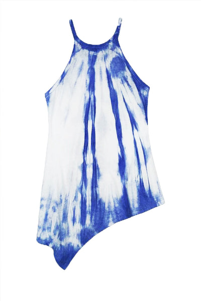 Antigua - BLUE TIE DYE TANK TOP