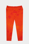 Capri Leggings - Orange Tie Dye