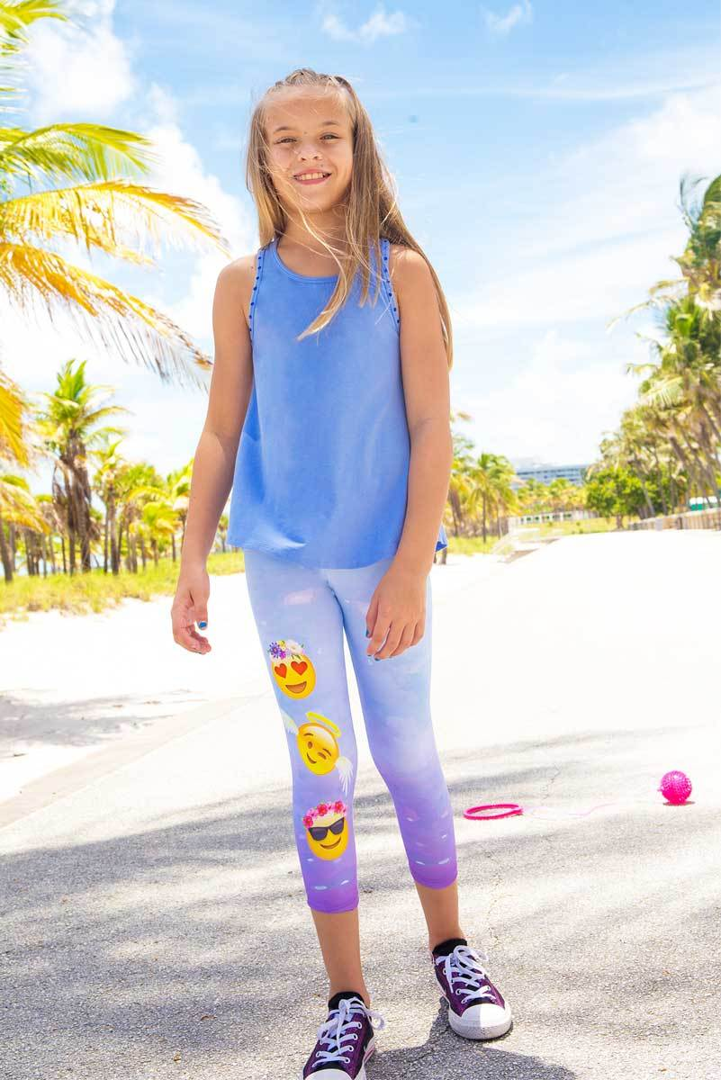EMME - EMOJI Activewear Capri LEGGINGS