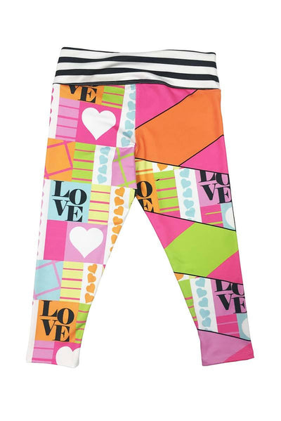ERICA - COLORBLOCK PRINT LEGGING