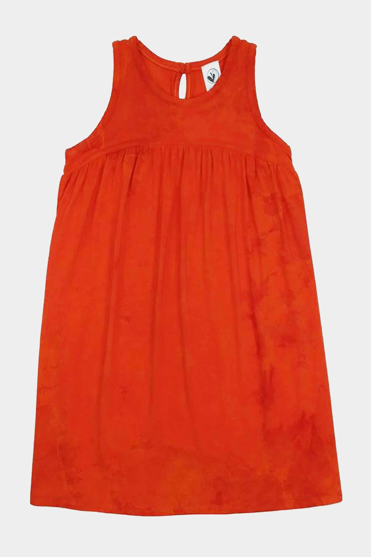 Kaliko - ORANGE TIE DYE TANK DRESS