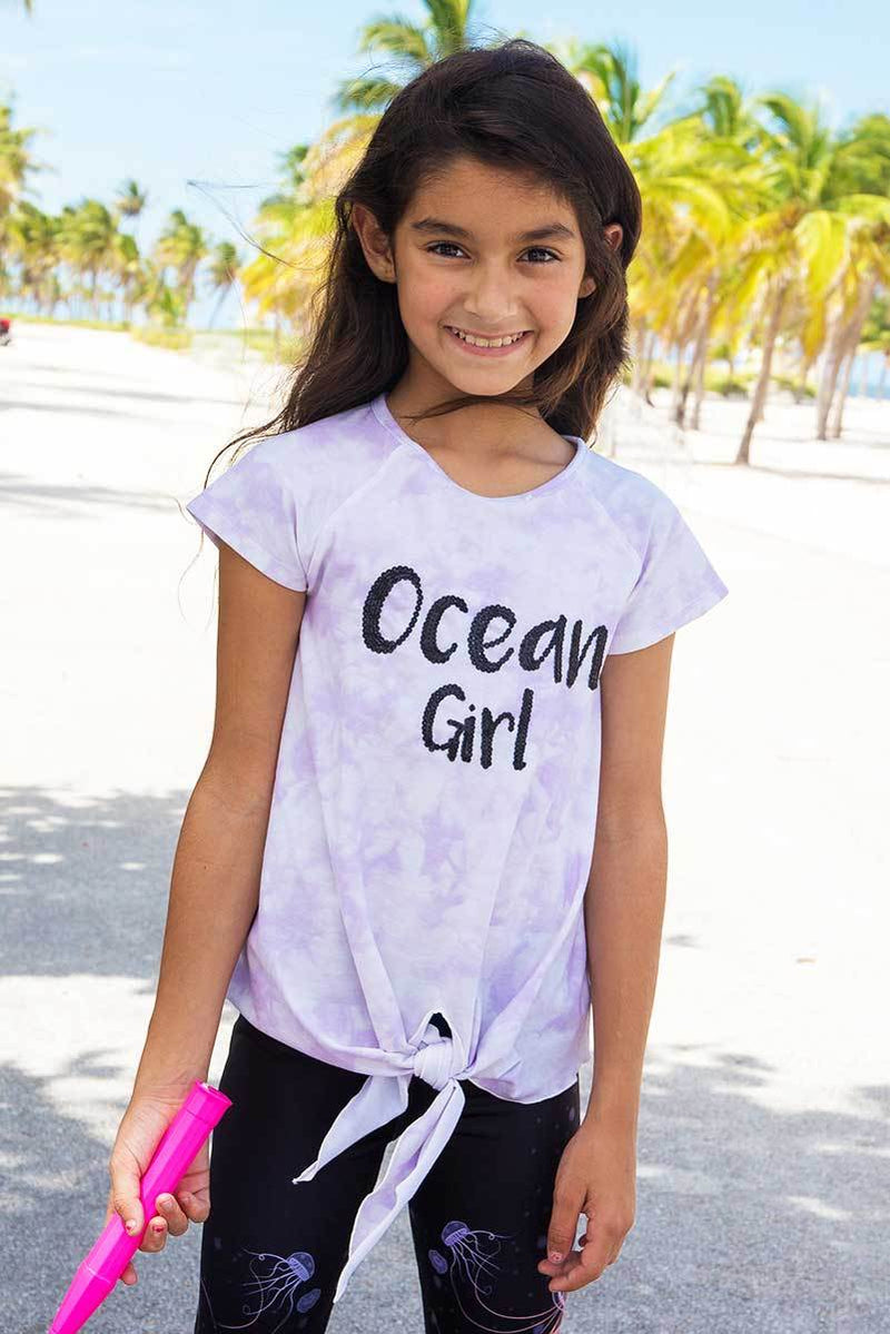 KELIA - OCEAN GIRL TIE DYE TOP