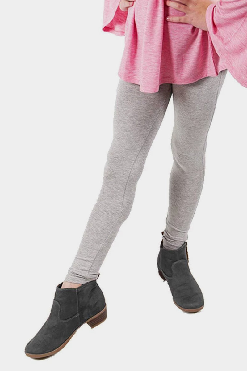 Knit Leggings - Light Grey
