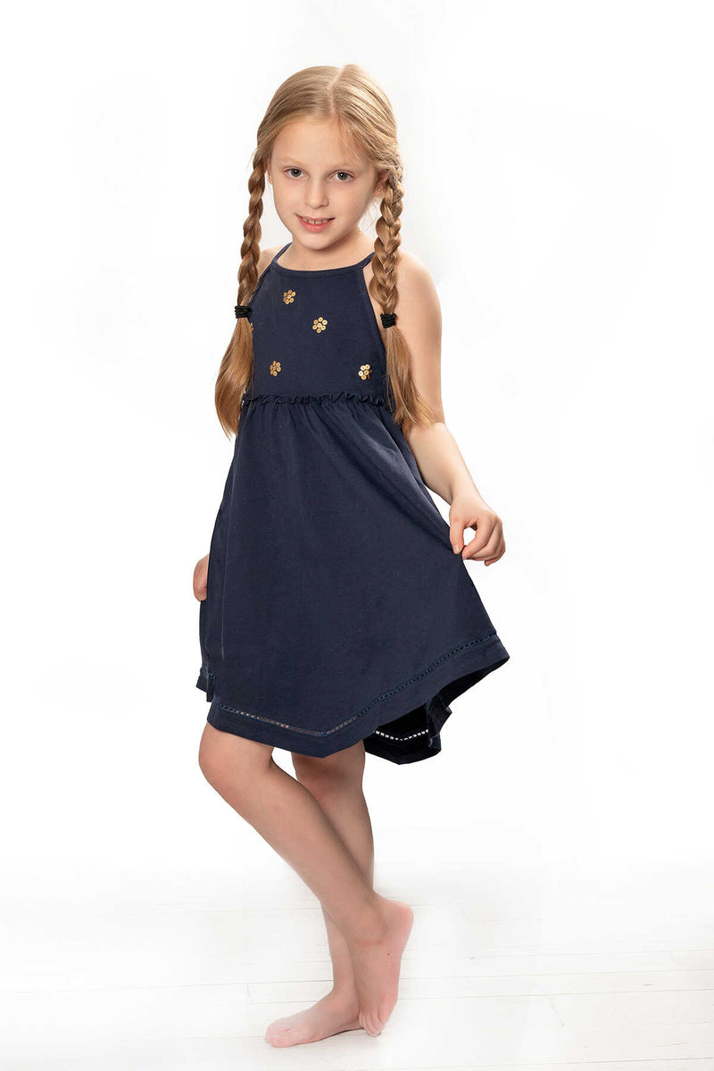 Lily Sequin Detailed Tank Dress