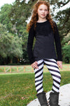 Linzi - Stripe Leggings
