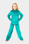 Minky Bubble Pant - Teal