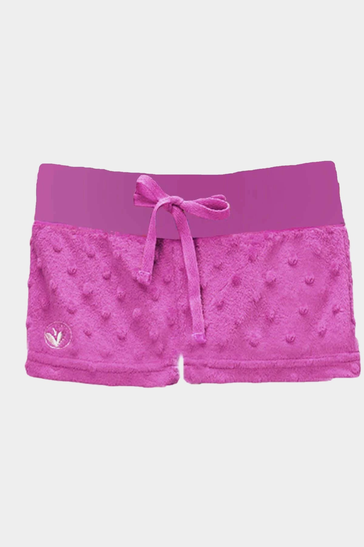 Minky Bubble Shorts - Orchid