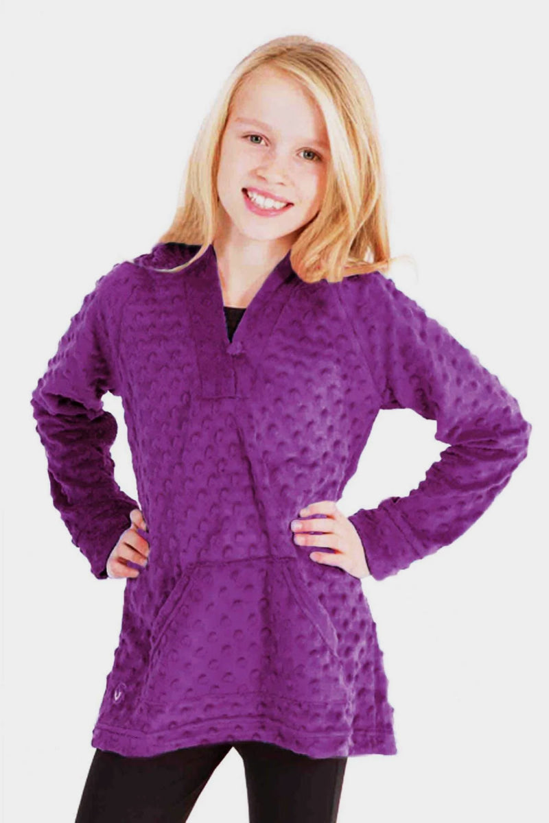 Minky Bubble Tunic - Purple