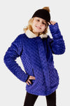 Minky Reversible Bubble Jacket