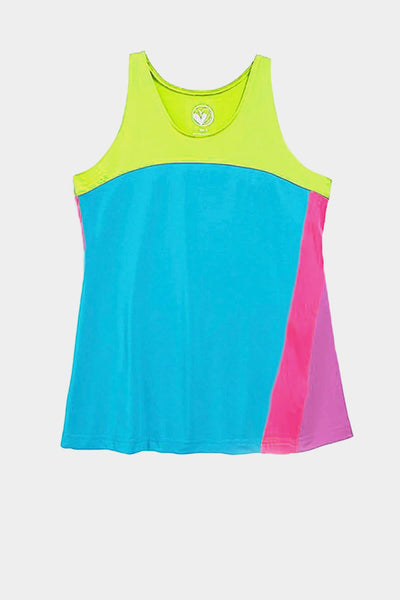 On the Run Activewear A Line Top