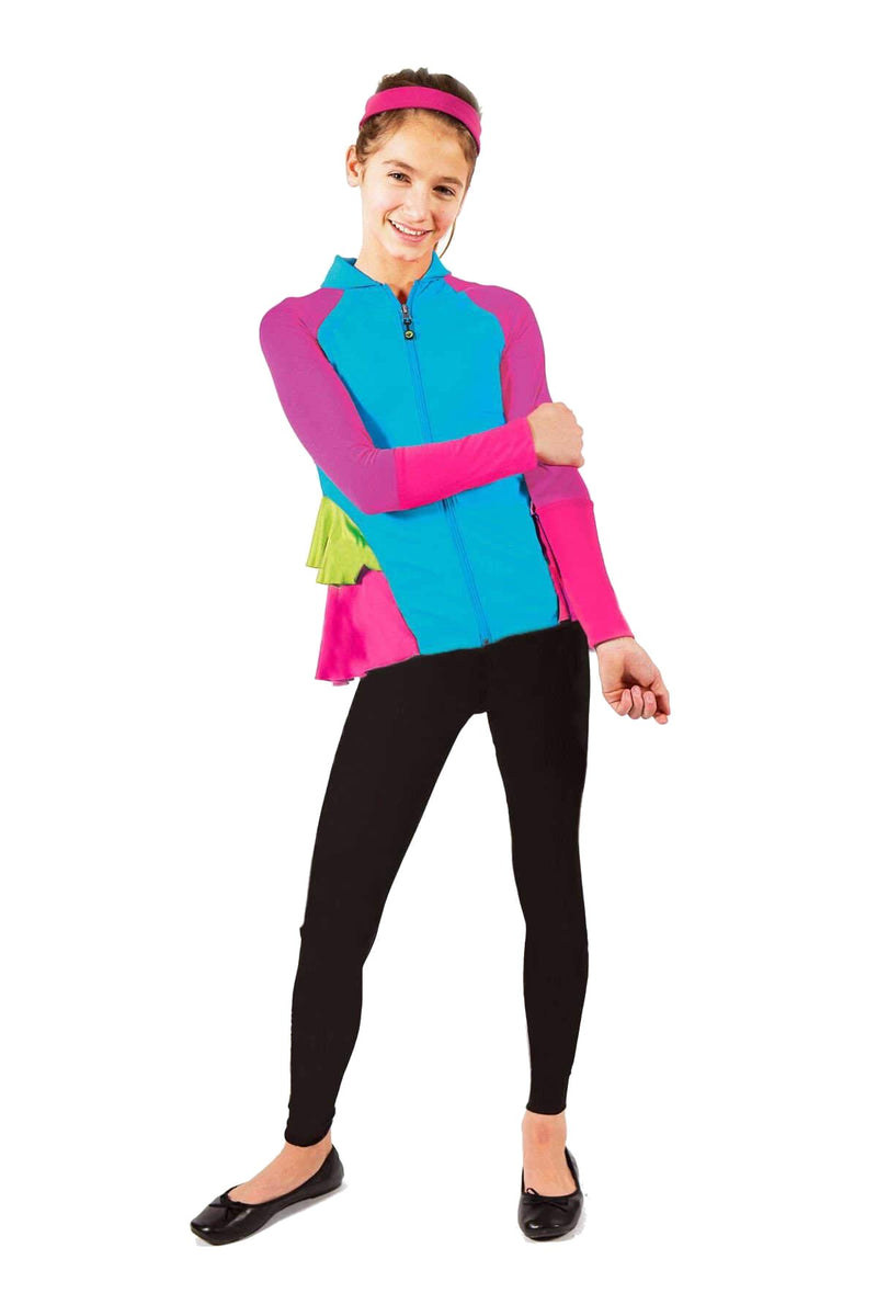 On The Run Activewear Jacket + Leggings Set