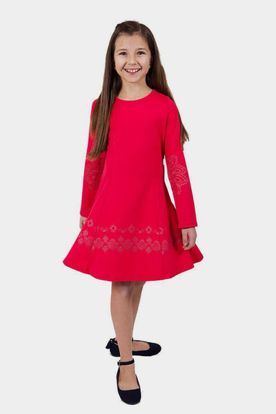 Promise - Red A-line Dress