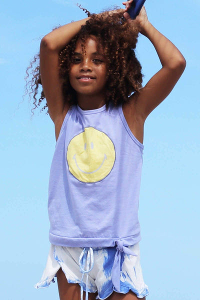 ROSEAU - SMILEY APPLIQUE TANK TOP