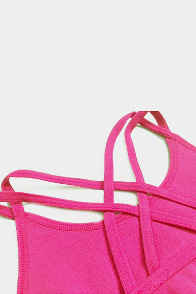 Active Gear Half Top - Fuchsia