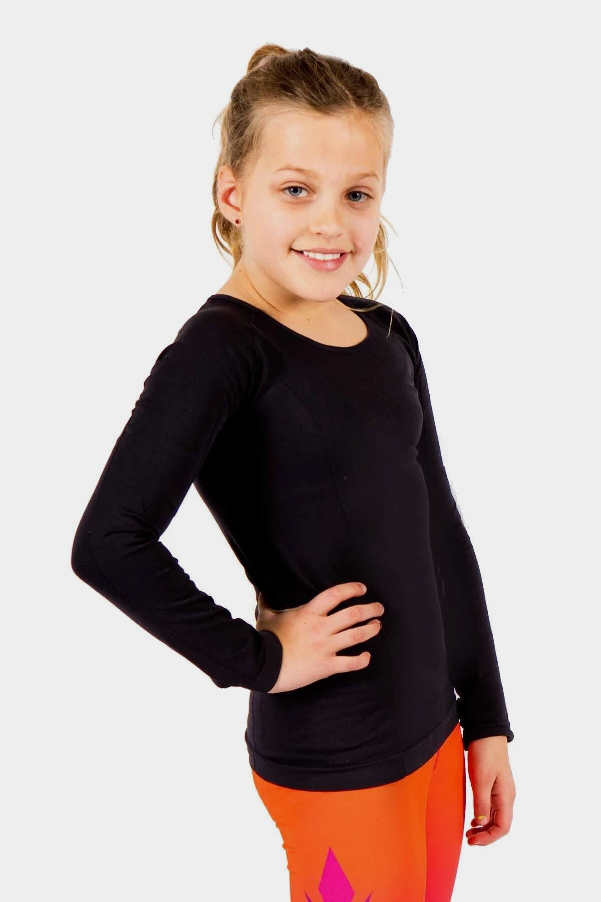 Active Gear Long Sleeve Top - Black
