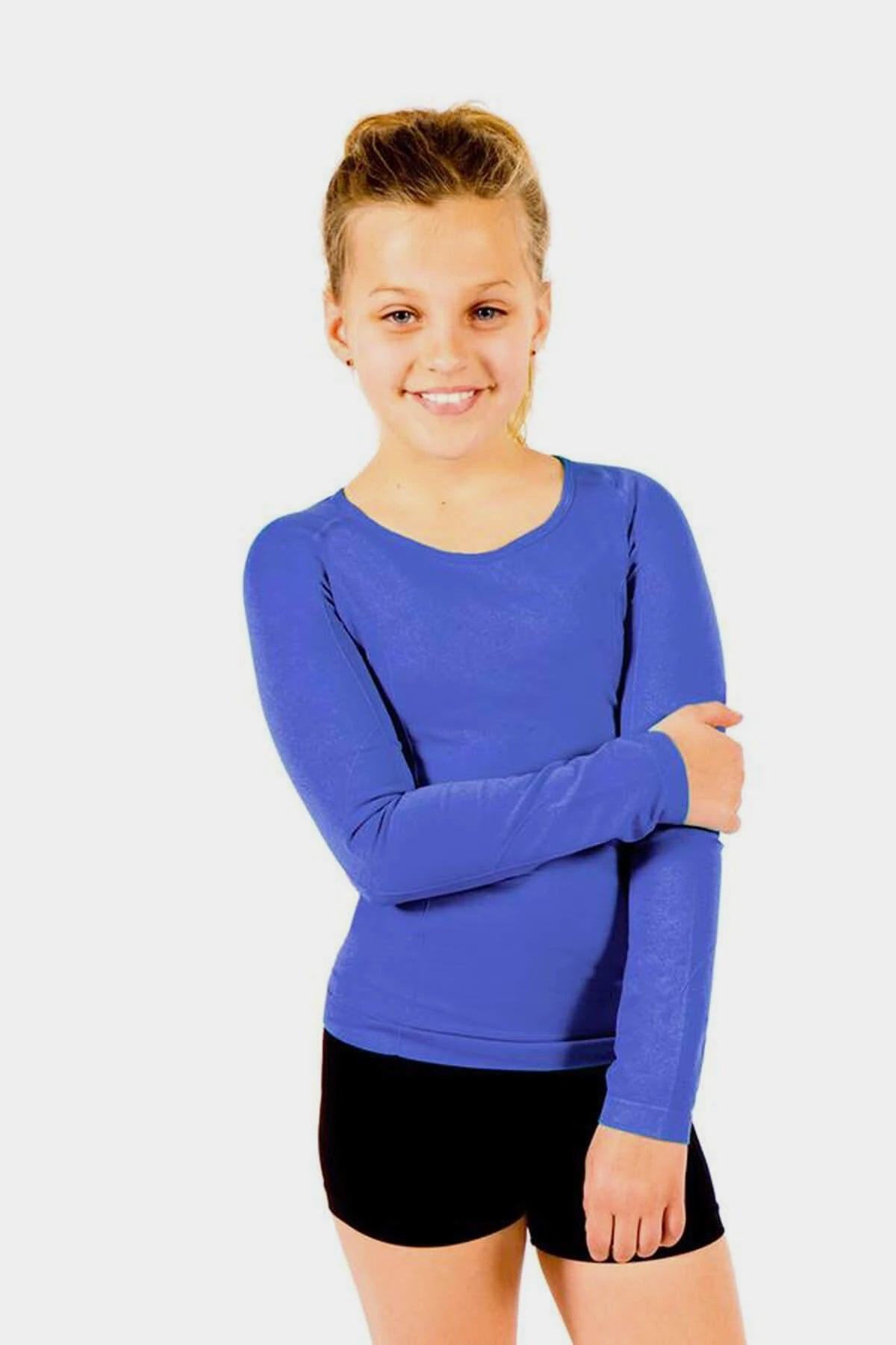 Active Gear Long Sleeve Top - Blue