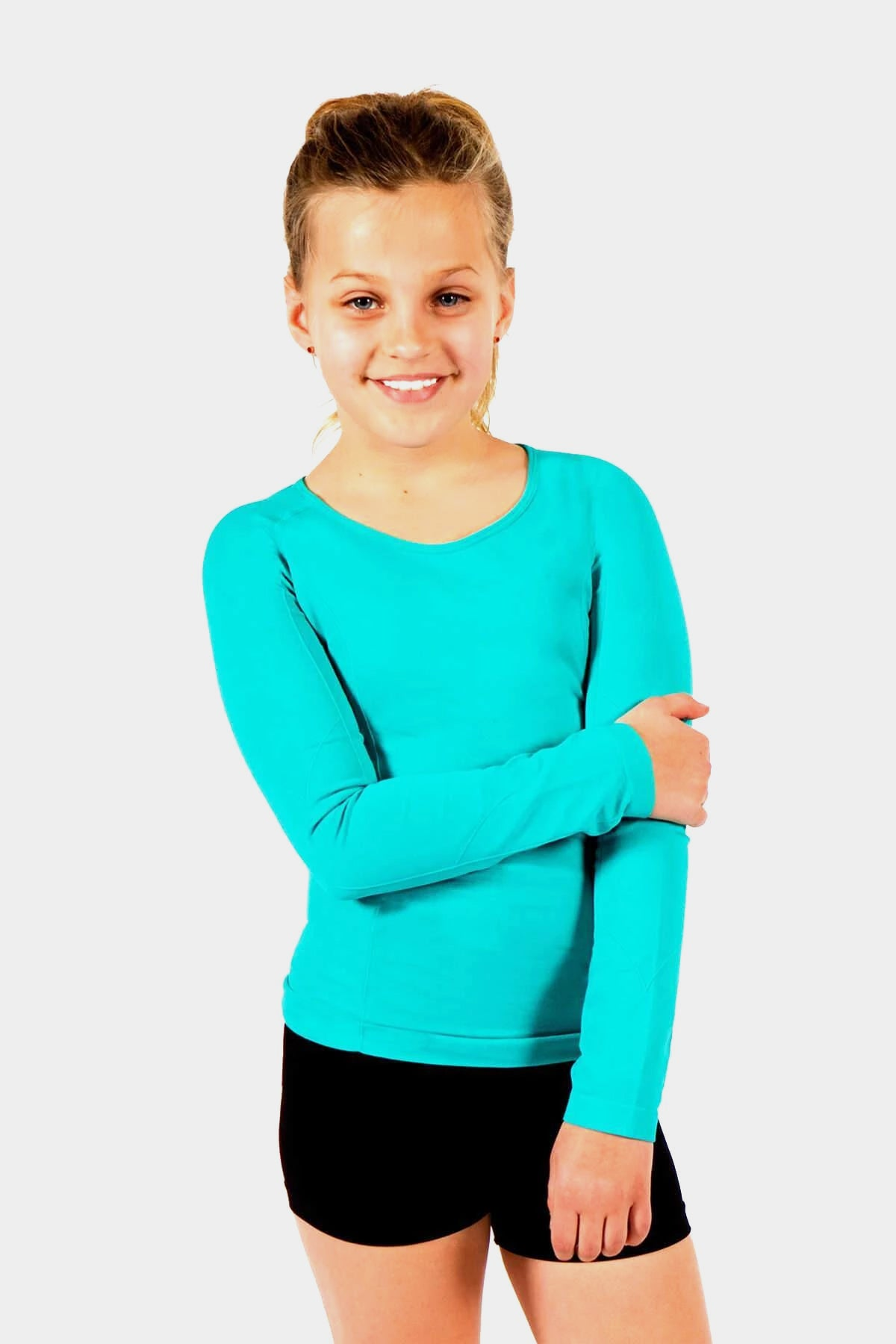 Active Gear Long Sleeve Top - Teal