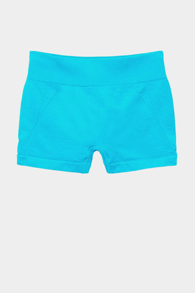 Active Gear Mini Shorts - Turquoise