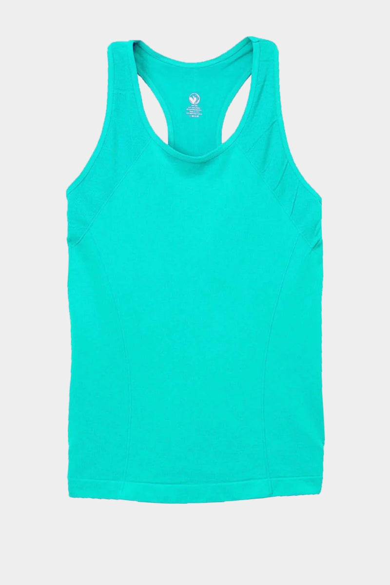 Active Gear Racerback Tank - Teal