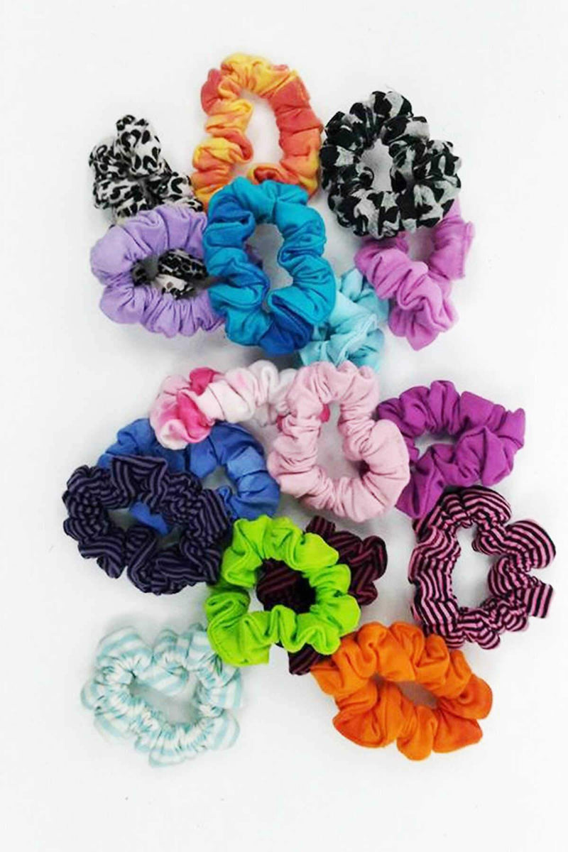 Scrunchies - Assorted 6pc pack