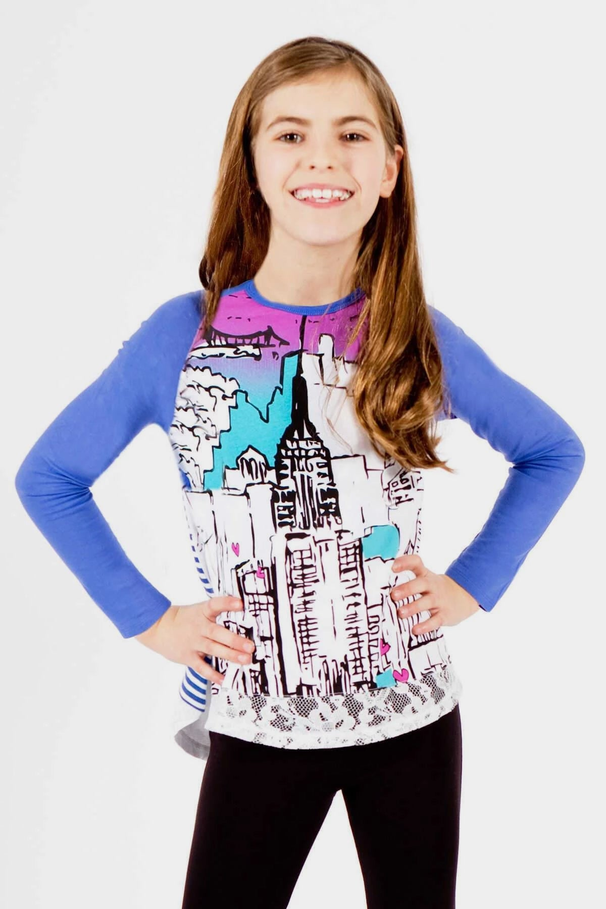 Tula - New York Graphic Top