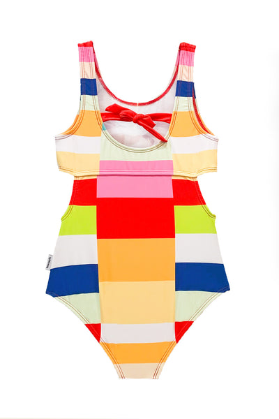 Nolita - Color Block One Piece Swimsuit