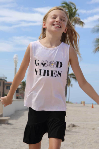 Santiago - GOOD VIBES GRAPHIC TANK TOP