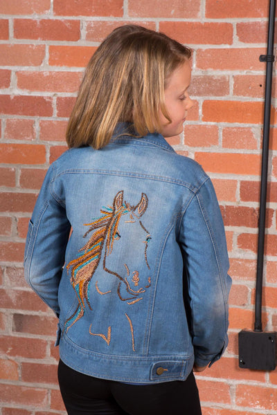Dakota - Horse Jean Jacket