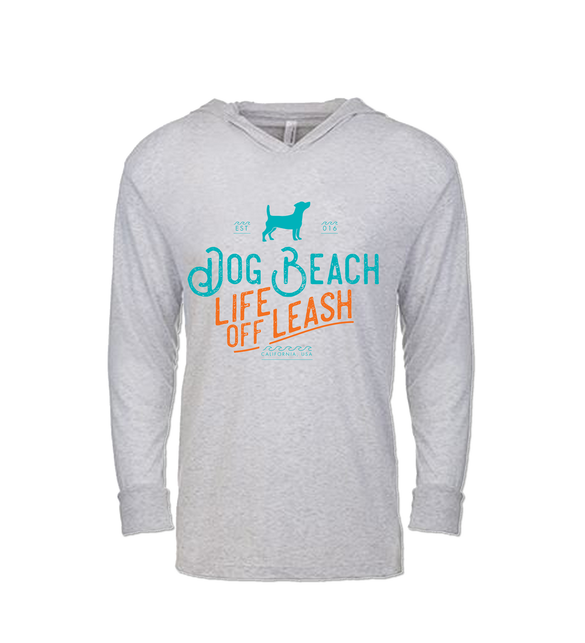Dog Beach Hoody TShirt