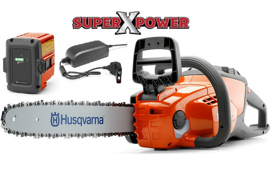 Husqvarna 120i Chainsaw  40 volt lithium battery powered
