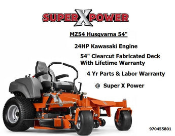 Husqvarna MZ54 Zero Turn Lawn Mower  970455801