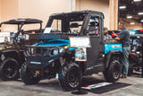hisun sector 550 UTV side x side shown with optional equipment available at Hisun Dealers in Minnesota Super X Power