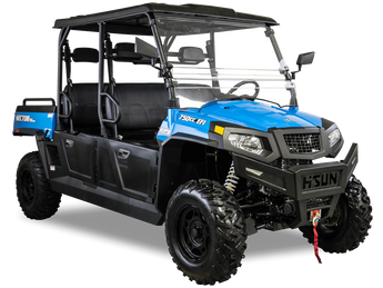 Hisun Sector 750 Crew UTV  color Blue  Hisun Dealer in Minnesota Super X Power