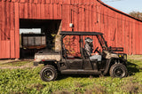 Hisun Sector 750 crew UTV photo shoot in front of barn