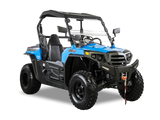 Hisun Strike 250 Side by Side color Bahama Blue available at Super X Power a Hisun Dealer in Minnesota
