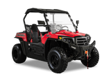Hisun Strike 250 UTV's and Side by Sides  color Red Youth Sport Model UTV
