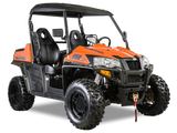 Hisun Strike 900 Sport Model UTV color sunrise orange at Super X Power in Minnesota