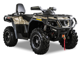 Hisun Tactic 550 ATVs 2 person riding 2 up Super X Power a Hisun Dealer in Minnesota